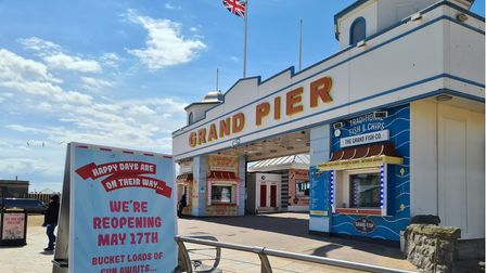 May 17: Grand Pier announces summer gigs