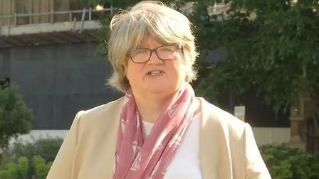 Therese Coffey appears on Sky News. Photograph: Sky News.