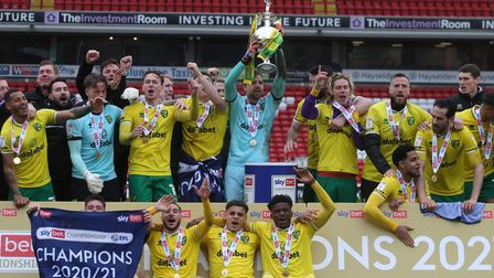 Norwich City delivered a club record season to lift the Championship title