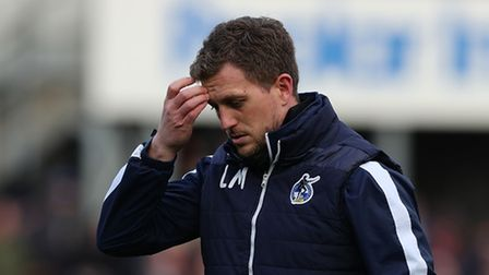 Lee Mansell during the FA Cup match between Bristol Rovers and Coventry City at Memorial Stadium, Br