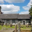 St Oswald's at the heart of the village of Lower Peover, Cheshire
