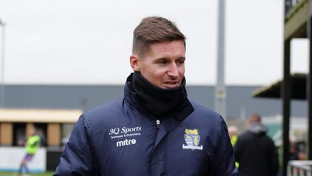 The now former St Neots Town boss, Barry Corr
