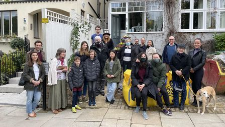 Highgate neighbours joineda ceremony to remember the cat Malachi