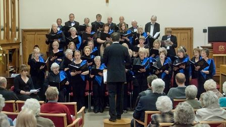 Cantamas Choir, who will be performing at Cromer's Pavilion Theatre as part of this year's Coast Cho
