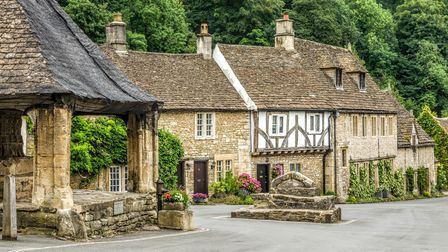The pretty Cotswold village of Castle Combe (c) Kevin Eaves / Shutterstock
