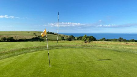 The stunning views of Axe Cliff Golf Club