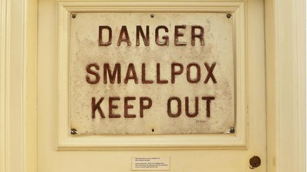 Smallpox - Keep Out sign