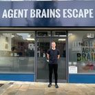 Kaden Lambert, 19, opened Agent Brains Escape Rooms in Letchworth on May 17 - North Herts' first escape room