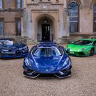 Petrolheadonism Live supercars at Knebworth House, including a Koenigsegg Regera.