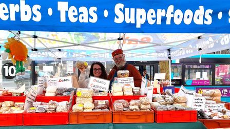 Eat Wholefoods will have a stall at the St Albans sustainable market.