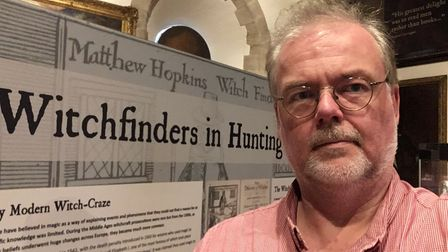 Stuart Orme is the curator of the Cromwell Museum in Huntingdon.