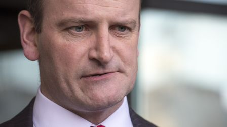 Former Ukip MP Douglas Carswell speaks to the media outside Portcullis House, London (Pic: Anthony D