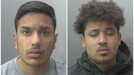 Huntingdon blackmailers Haroon Mohammed and Cobi Thomas forced their victims totransfer hundreds of pounds.