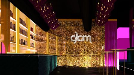 """Glam in Old Street is going to be decorated with """"plush drapes, dangling chandeliers, and warming backlights"""""""