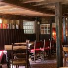 Inside St Albans' Ye Olde Fighting Cocks after it re-opened on May 17th.
