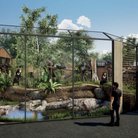 ACGI image of how Sun Bear Heights will look at Paradise Wildlife Park. The new habitat will be home to two sun bears.
