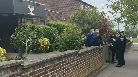 Essex Police meeting with the Jewish community after a rabbi was assaulted outside the Chigwell and HainaultSynagogue