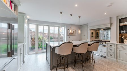 The Humphrey Munson kitchen is one of the property's stand out features.