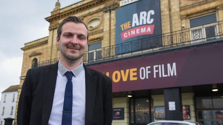 Derren Hodges, Manager of The ARC Cinema in Great Yarmouth which is welcoming people back in again.