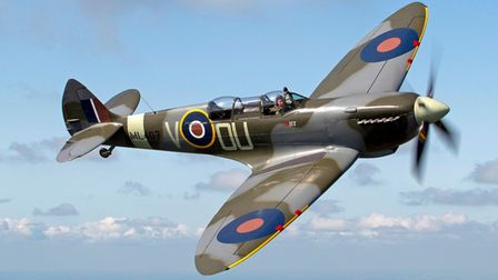 The Grace Spitfire is set to fly over the Hatfield Battle Proms concert.