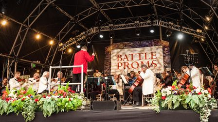 TheNew English Concert Orchestra will return for this year's Battle Proms concert but with fewer musicians.