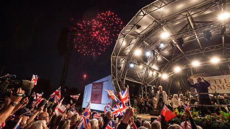 TheNew English Concert Orchestra performing at a previous Battle Proms concert.