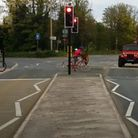 The crossing aims to makeit safer for people who are walking and cyclingto cross the busy B3128.