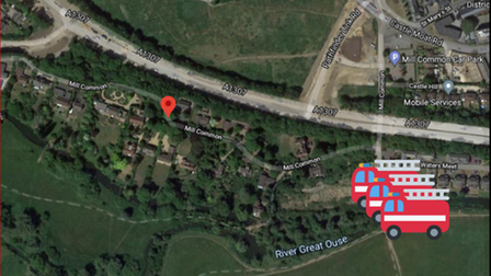 Fire service training exercise to take place atPortholme, Huntingdon, this morning (May 18).