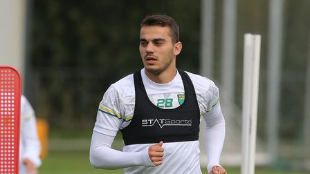 Danel Sinani is confident he can make the grade at Norwich City
