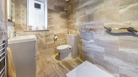 The refitted bathroom