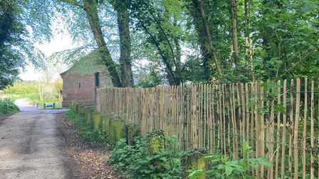 Fencing at East Somerton Church