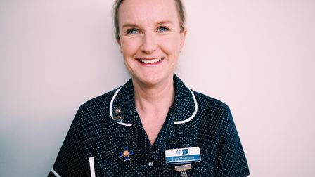 Jayne Dingemans, director of patient services at Garden House Hospice Care, has been awarded a BEM i