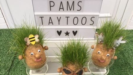 Grass heads will be among the items available to buy at the BritishSchoolsMuseum's first craft fair of the year