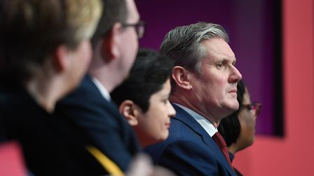 Sir Keir Starmer during a Labour Party event before he became leader. Photograph: Joe Giddens/PA.