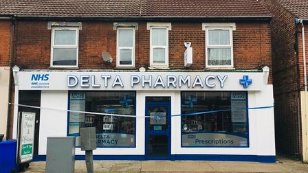 Umesh Patel's Delta Pharmacy is on Foxhall Road