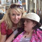 Letchworth's Inga Hass with Jasmine, who has complex disabilities and attends Aurora Orchard Manor in Meldreth