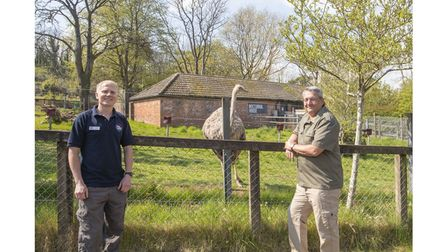 Bird keeper and man who made zoo donation
