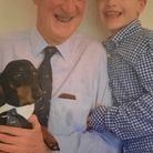 Eight-year-old George Warburton from Royston is tap dancing to raise money in memory of his grandpa