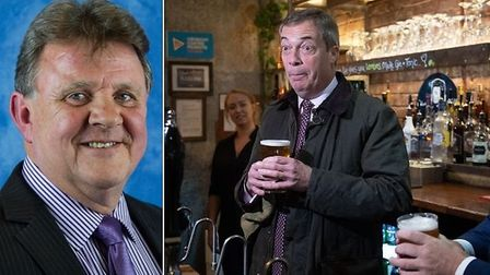 Paul Bullen (L) took the Brexit Party to court and won his unpaid expenses claim. Photos: PA