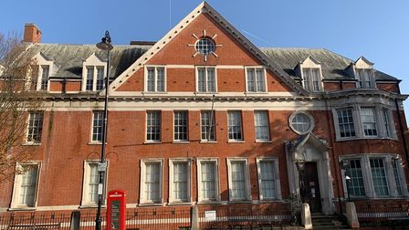 Hampstead's old police station in Rosslyn Hill is being sold by estate agents Cushman and Wakefield