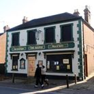 The Magpie pub before being shrouded in scaffolding for work to commence on converting it into flats