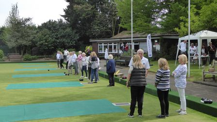 Clockhouse Bowling Club in Upminster