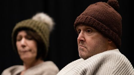 Mark Dawsonin Company of Ten's production of Two at the Abbey Theatre in St Albans.