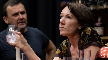 Jill Priest in Company of Ten's forthcoming production of Two at the Abbey Theatre in St Albans.