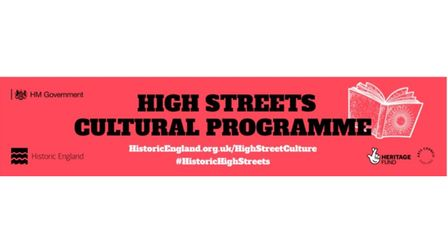 The High Streets Cultural Programme logo.