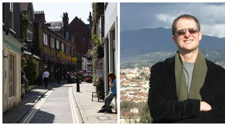 Hampstead Village Voice publisher Sebastian Wocker is among the vocal opponents of the Hampstead BID