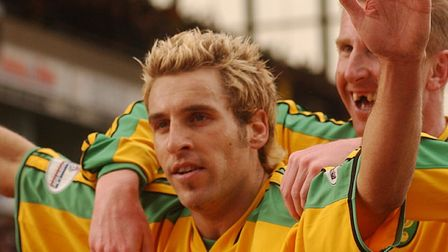 Action from the Nationwide league division one match between Norwich and Ipswich .Darren Huckerb