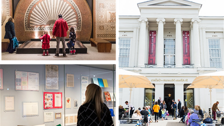 St Albans Museum + Gallery and Verulamium Museum have both reopened.