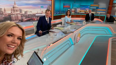 Alastair Campbell guest presentsGood Morning Britain