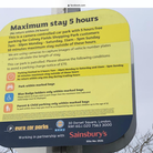 The parking sign at Sainsbury's in Colney Fields.